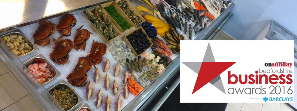 GCH Fishmongers is a finalist in Bedfordshire Business Awards 2016!